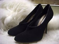 Stella McCartney Faux-Suede High-Vamp Pump Shoes Size 39.5 $795