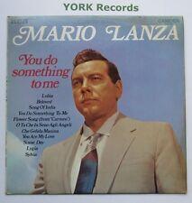 MARIO LANZA - You Do Something To Me - Ex Con LP Record RCA Camden CDM 1001