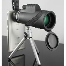 40x Optical Monocular Zoom HD Telescope Lens Mobile Phone Camera +Tripod 7319HC