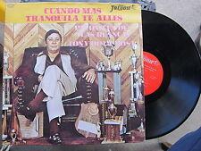 LATIN LP: TONY DE LA ROSA Cuando Mas Tranquila Te Alles-Palomita De Alas Blancas