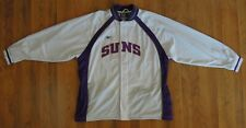 Reebok NBA Authentics Suns Team Issued Full Zip White Warmup Jacket-2XL-NWOT