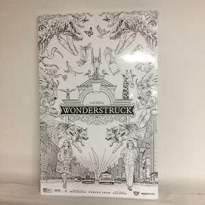 Wonderstruck Movie Coloring Poster Page 50 Sheets Kids Adults Amazon Scholastic