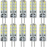 10x DC12V G4 24 3014 SMD LED Stiftsockel Glühbirne Lampe Strahler Leuchtmittel 1