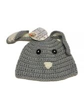So Dorable Newborn 0-6 Months Baby Hat Bunny Crochet Photo Prop NEW