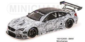 Minichamps 155152699- BMW M6 GT3 – Presentation Spa – 2015 - 1:18 New