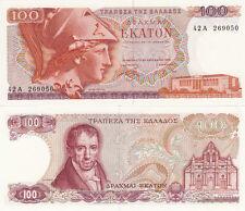Billet banque GRECE GREECE 100 drachmes 1978 neuf unc