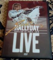 Johnny Hallyday - PAVILLON DE PARIS 79 - DVD LIVE
