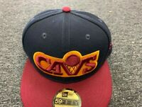 NEW ERA CAP CLEVELAND CAVS  59 FIFTY FITTED HAT