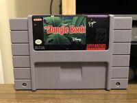 Disney's The Jungle Book (Super Nintendo SNES, 1994) *TESTED*