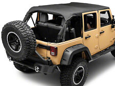 Smittybilt 94635 Extended Top 10-18 Jeep Wrangler JK 4-Door with Header Channel