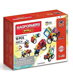 Magformers Vehicle Wow Set Ages 3+ Construction Set Multicoloured 707004