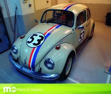 Vintage/Classique Herbie VW Beetle Style Stripe Kit