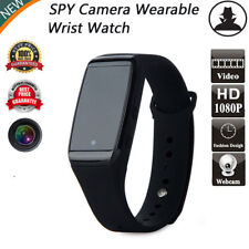 Hot HD 1080P Black Spy Wrist Watch Hidden Camera Mini DV DVR Cam Video Recorder