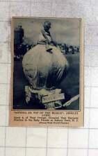1927 Shirley Lund, Aged 4, West Orange, Baby Parade ,asbury Park, Nj