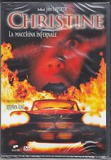 Dvd **CHRISTINE ♦ LA MACCHINA INFERNALE** di Stephen King John Carpenter 1983