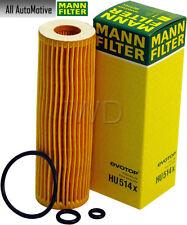 Oil Filter Fits Mercedes C230 02-05 (see details) MANN HU514X 2711800109