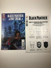 Black Panther & The Crew #1 | Black Panther #166 How to Draw Variant | NM+