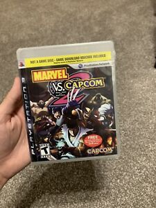 Marvel Vs. Capcom 2 PS3 Playstation 3 Case GameStop Exclusive Factory Sealed NEW
