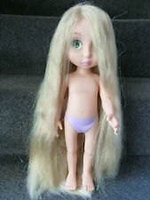 Disney Animator Special Edition Rapunzel Doll 5 Gold Lines Glitter Hair