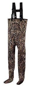 KOBUK Men's Shadow Grass Blades Hunting Neoprene Stocking Foot Wader Size XL