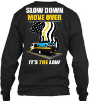 Tow Truck Roll Back Slow Down - Move Over It's Gildan Long Sleeve Tee T-Shirt