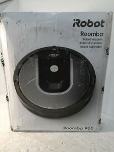 iRobot Roomba 960 Vacuum Cleaning Robot w Virtual Wall Barrier WiFi + Accessorie