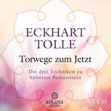 Tolle Eckhart Torwege zum Jetzt CD HörBuch NEU Techniken zu höherem Bewusstsein