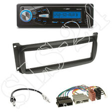 Caliber rmd055 usb/sd-radio + Chrysler/Dodge 1-din panneau + ISO-Adaptateur set