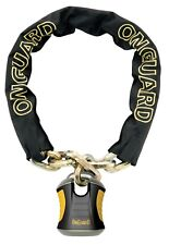 OnGuard Beast 8017 110cm x 12mm Motorbike Bike Heavy Duty Key Chain Lock