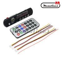 12V Bluetooth 4.1 MP3 Decoder Board USB TF Reader+Remote SD FM Radio for Car