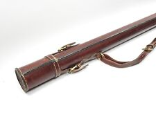 """Holland Sport Leather Fly Rod Tube. 36""""."""