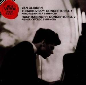 Tchaikovsky: Piano Concerto No.1 / Rachmaninoff: Concerto No.2 - VERY GOOD