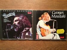 Georges Moustaki  [2 CD Alben / West Germany POLYDOR]  Moustaki  + Chansons