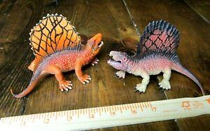 Sinewy Dinosaur Dimetrodon pair--Awesome!!!