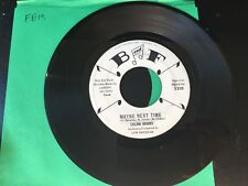 PROMO 45 Lillian Brooks - Maybe Next Time / Thrilled    B and F   VG+