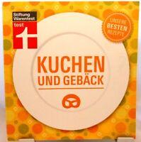 Kuchen und Gebäck + Kochbuch + Backen + Unsere besten Rezepte Stiftung Warentest