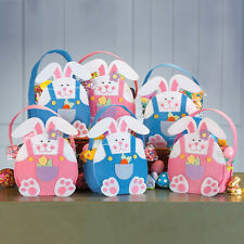 Fabric easter party bags ebay rabbit easter handbag candy handbag funny easter sunday party gifts bag new negle Image collections