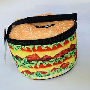 Hamburger Shaped Kids Lunch Box Insulated
