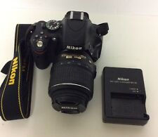 Nikon D5100 Body - 18-55mm Lens - Battery - Charger