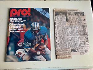 1976 Cincinnati Bengals Pittsburgh Steelers Football Program Archie Griffin