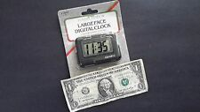 NOS large face digital clock new in package