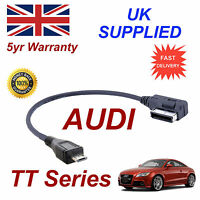 Genuine AUDI TT Series AMI MMI 4F0051510M MP3 PHONE MICRO USB Cable replacement