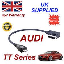véritable AUDI TT Series AMI MMI 4F0051510M MP3 Téléphone Micro USB câble