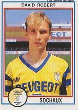 N°218 DAVID ROBERT FC.SOCHAUX VIGNETTE PANINI FOOTBALL 93 STICKER 1993