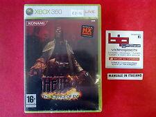 HELLBOY THE SCIENCE OF EVIL  XBOX 360 PAL NUOVO SIGILLATO