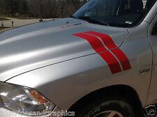 2010 11 12 2013 14 15 16 Dodge Ram Fender and Hood Hash Mark Stripe Stripes PAIR