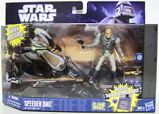 SPEEDER BIKE with CASTAS Star Wars The Clone Wars Vehicle & Figure 2-pack 2011