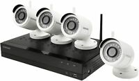 Brand New Samsung Wisenet SNK-B73040BW 4 Channel 1080p 1TB NVR Security System