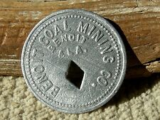 old BENOIT ALABAMA AL (tiny DALLAS CO) COAL MINING COMPANY STORE MERCHANT TOKEN