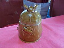 pot à miel décor abeilles